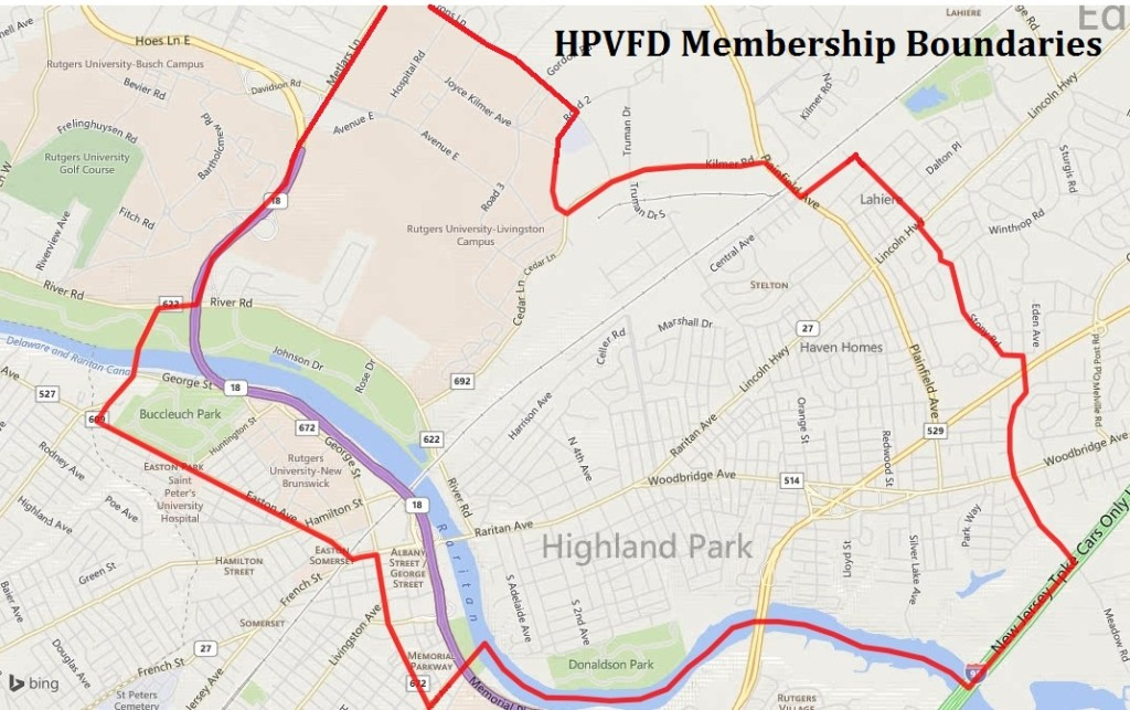 HPVFD Boundaries
