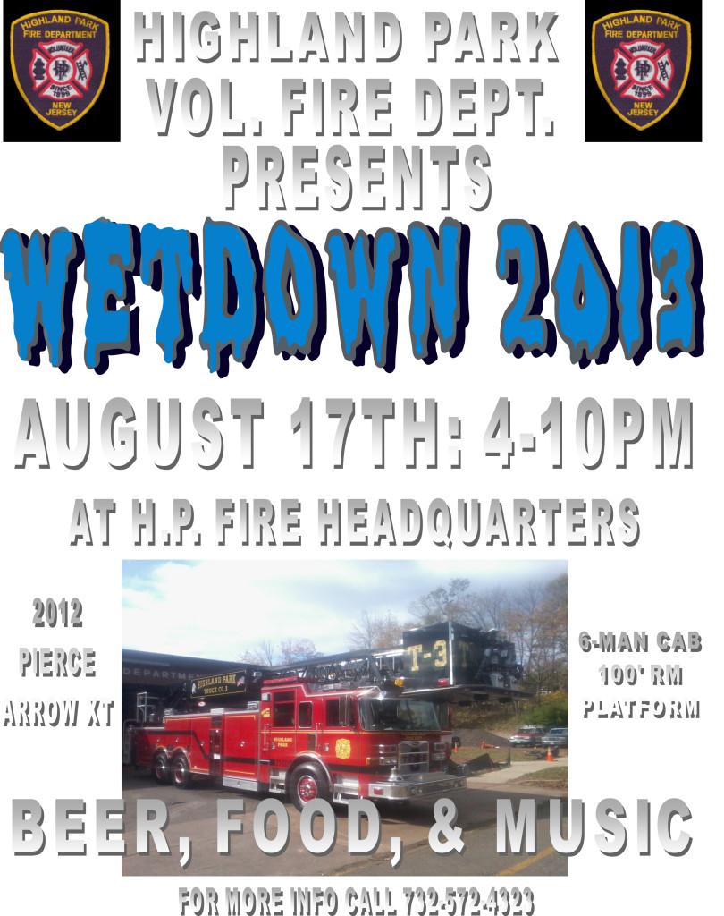 Wetdown flyer 2013