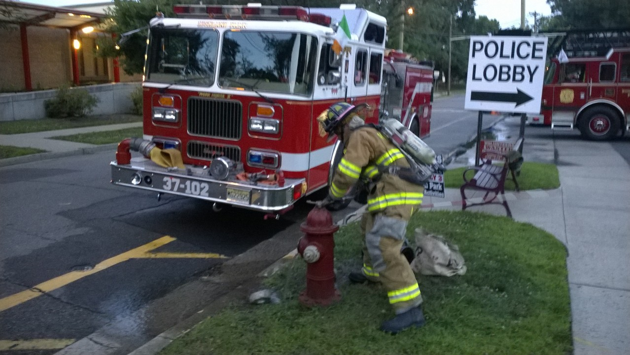 Continuing on with National Volunteer Appreciation Week today I d like to  give credit to our Volunteer Firefighters. Within the structure of the  department 7c6b7a6606d9